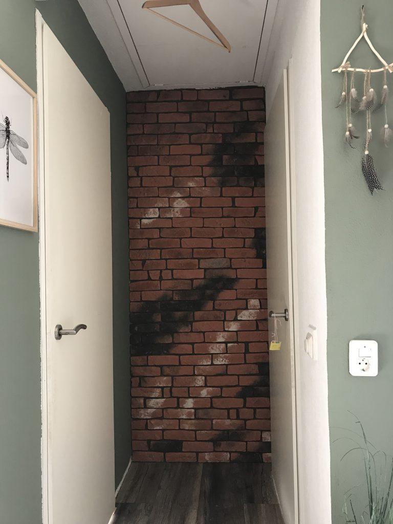 Het muurtje zonder voegsel