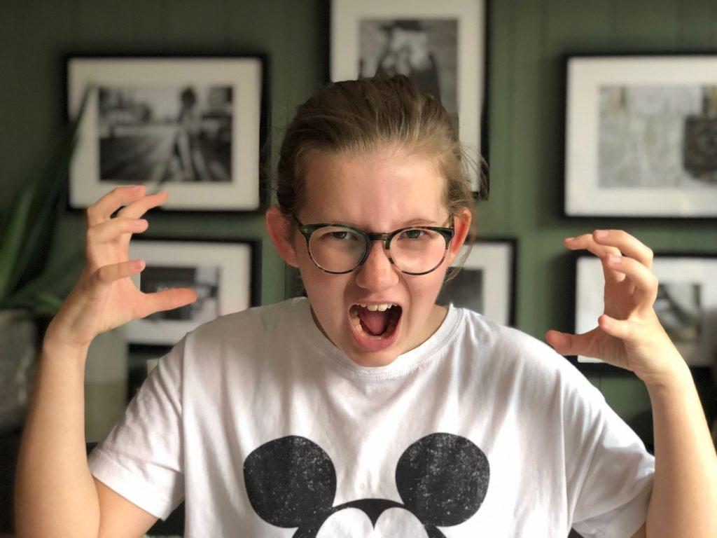 boosheid bij pubers